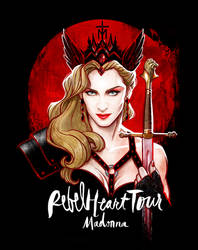Madonna's REBEL HEART TOUR by David Kawena