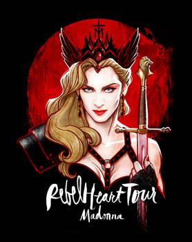 Madonna's REBEL HEART TOUR by David Kawena