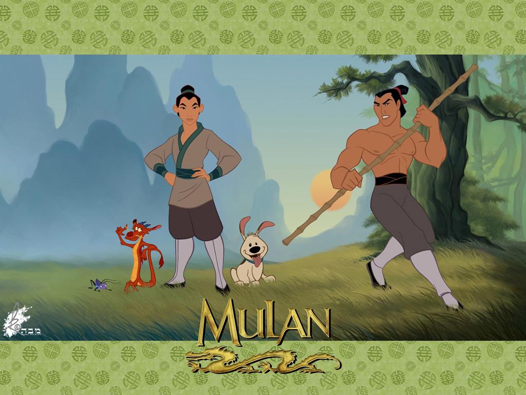 Mulan - Wallpaper by davidkawena