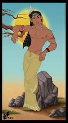 Native American 1 by davidkawena