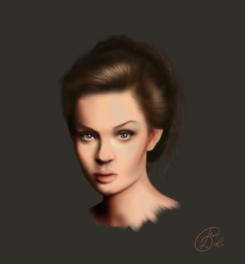 Portrait Study #1 by Deidale