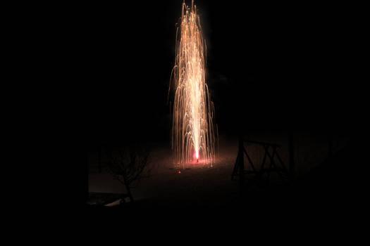 Firework Vulcano
