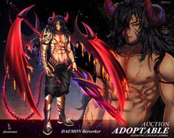 OPEN Adoptable Daemon Berserker #13 by kjpluemmini