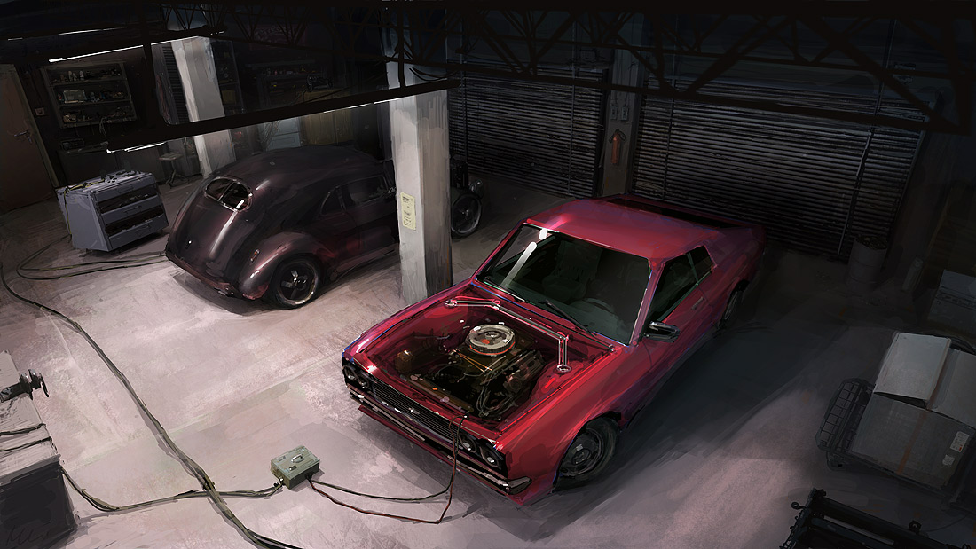 Garage by maykrender