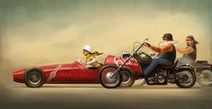 race by maykrender
