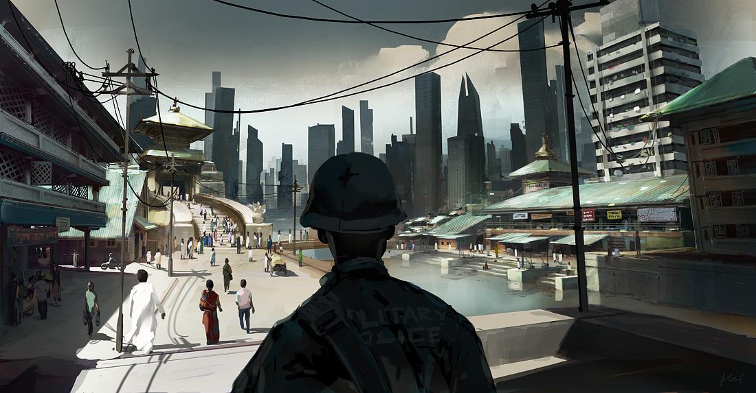 slums by maykrender