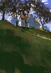 hill by maykrender