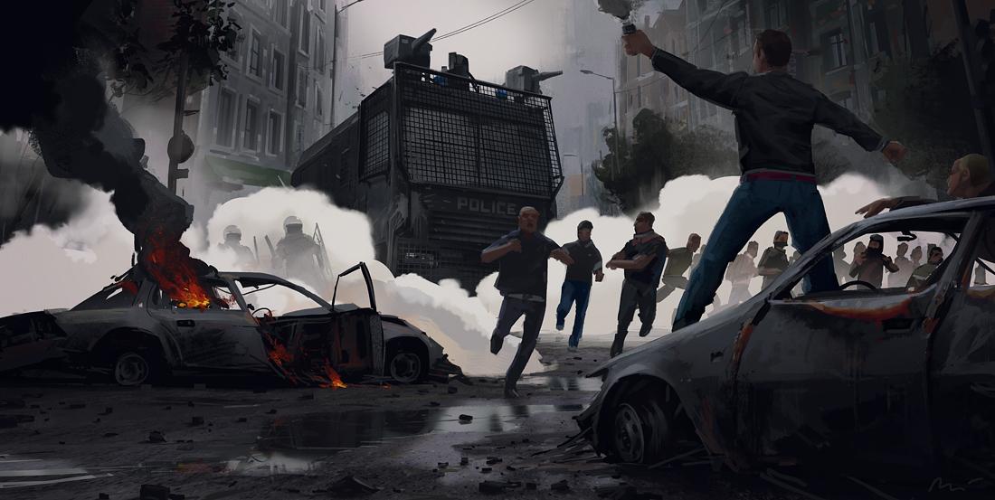 Street riot vol2 by maykrender