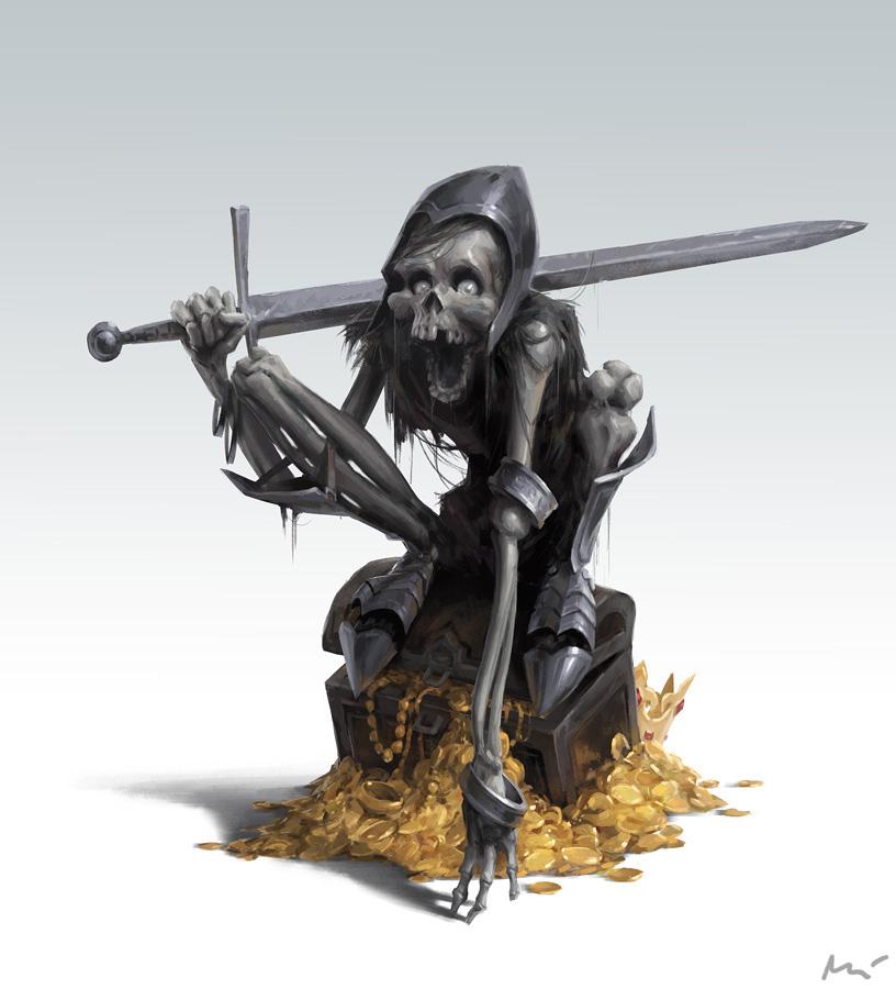 skeleton by maykrender