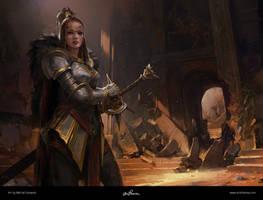 League of Legends Leona by maykrender