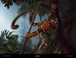 Wukong / LoL by maykrender