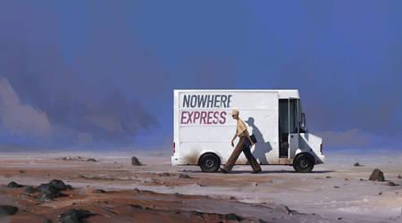 Nowhere Express final scene by maykrender