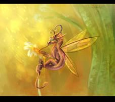 Honey Flower by Wyrmin
