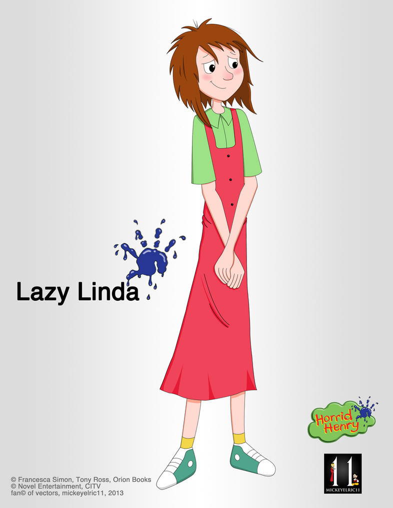 Horrid Henry: Lazy Linda, the Underrated Ship by mickeyelric11
