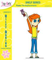 Toy Girls - Shelf Series 13: Riley Daring by mickeyelric11