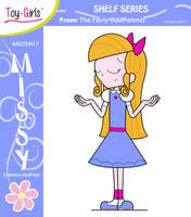 Toy Girls - Shelf Series 17: Missy by mickeyelric11