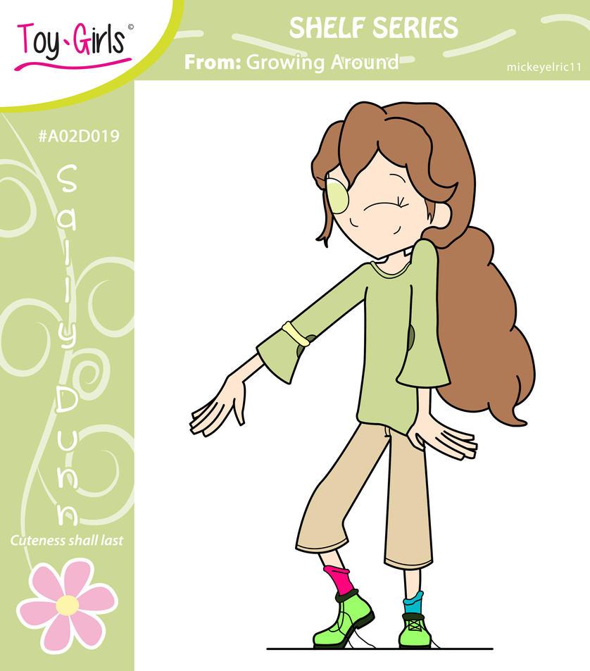 Toy Girls - Shelf Series 19: Sally Dunn by mickeyelric11