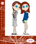Toy Girls - Arts n Crafts Series 8: Annie n Hallie