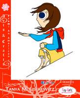 Toy Girls - As n Cs Series: Tanya Mousekewitz by mickeyelric11