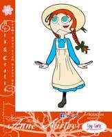 Toy Girls - Arts n Crafts Series 14: Anne Shirley