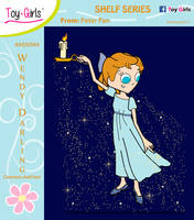 Toy Girls - Shelf Series 44: Wendy Darling by mickeyelric11