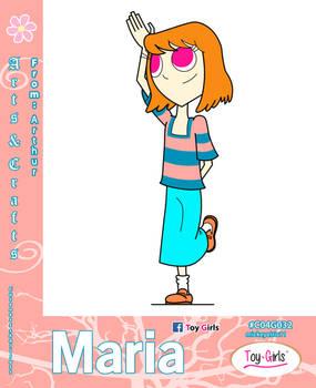 Toy Girls - Arts n Crafts Series 32: Maria
