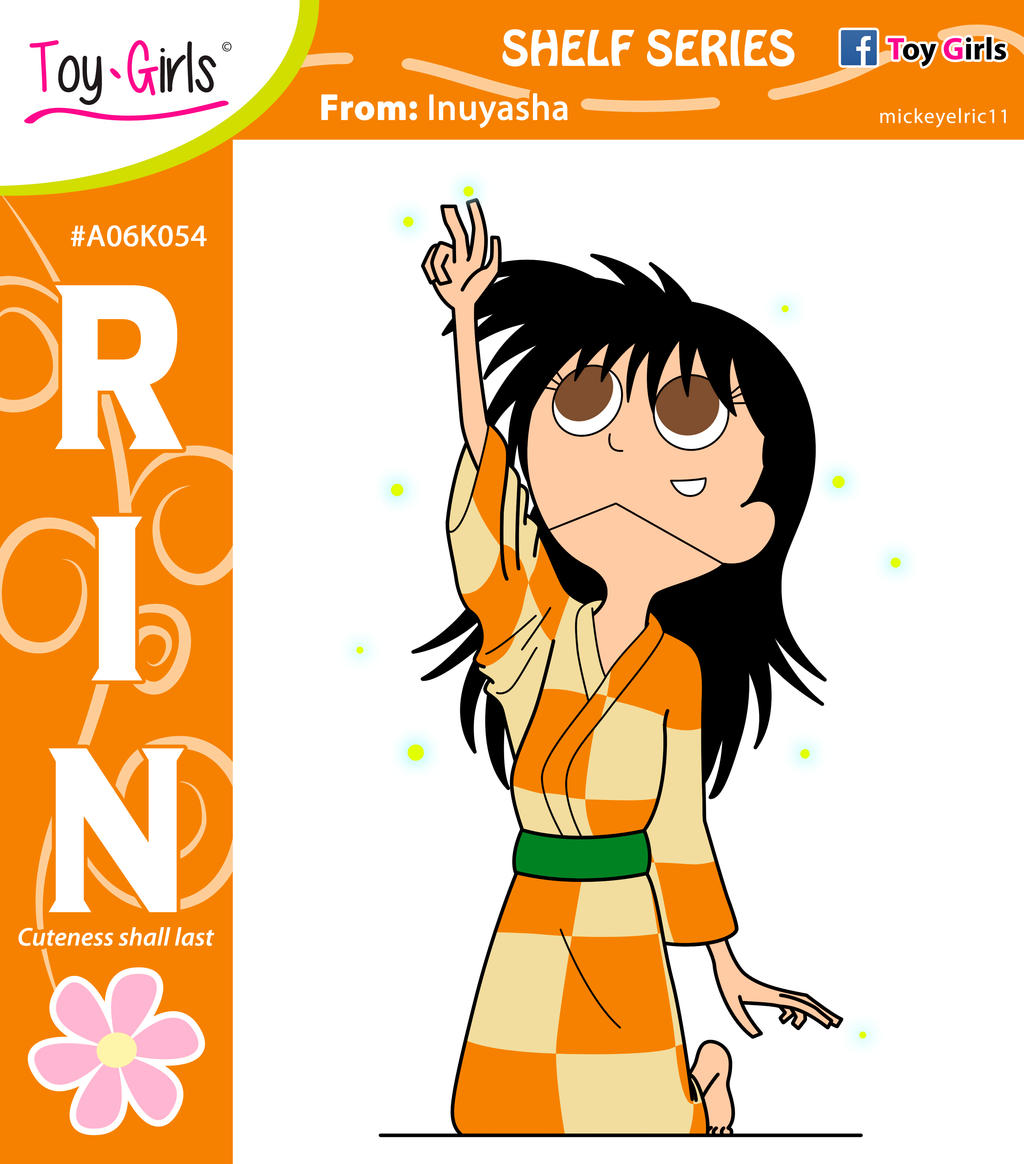 Shelf Series 54: Rin By Mickeyelric11 On