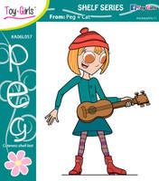 Toy Girls - Shelf Series 57: Peg by mickeyelric11