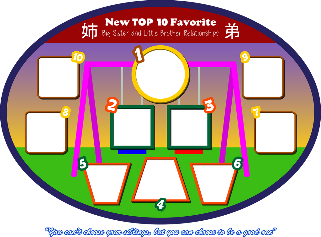 brother and sister favorite list