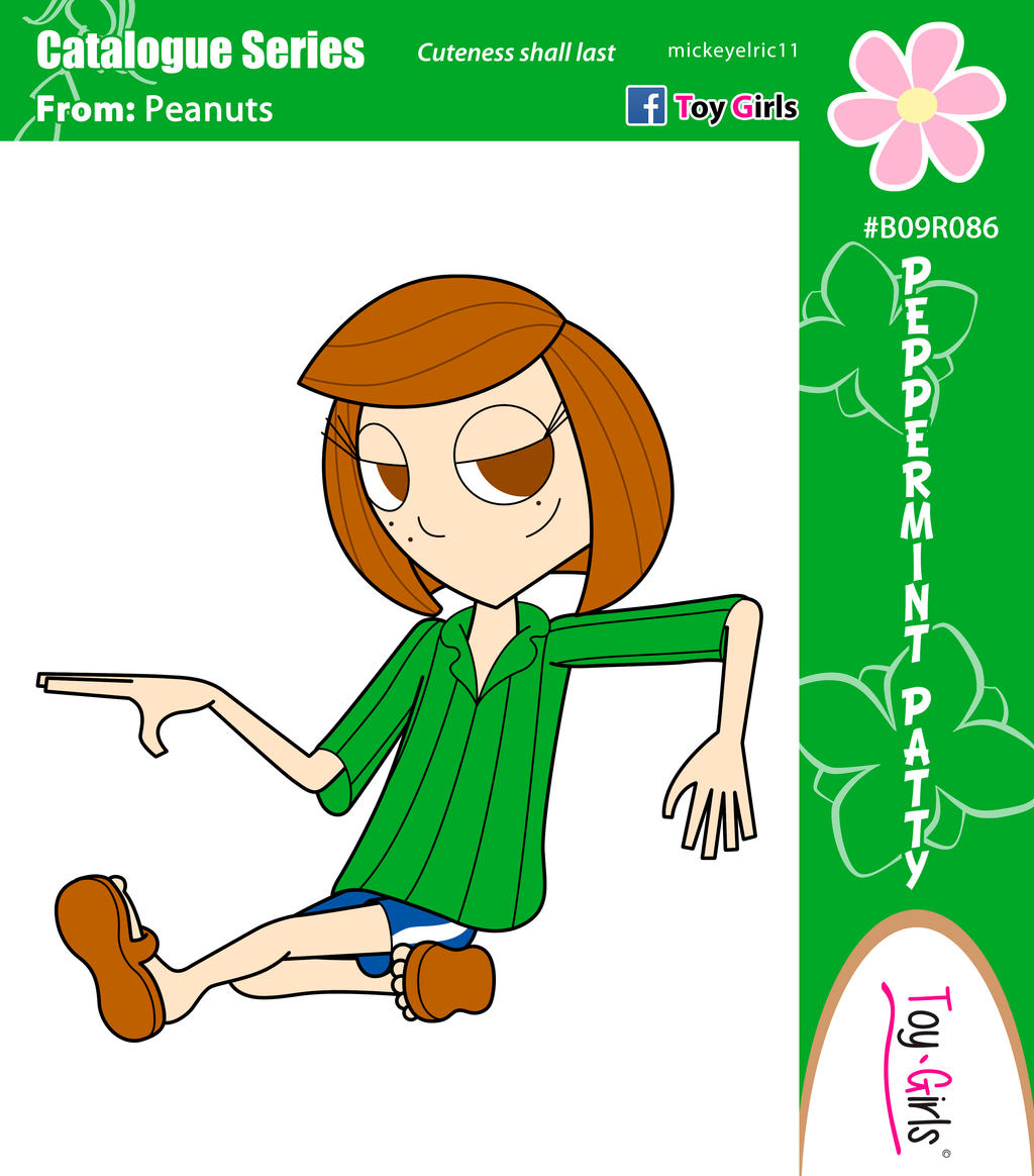 toy girls catalogue series 86 peppermint patty by mickeyelric11
