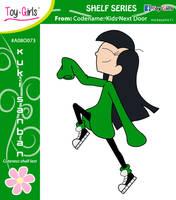 Toy Girls - Shelf Series 73: Kuki Sanban by mickeyelric11
