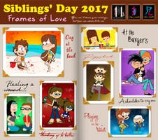 Siblings Day 2017 - Frames of Love by mickeyelric11