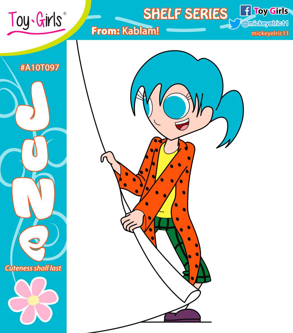 Toy Girls - Shelf Series 97: June by mickeyelric11 on DeviantArt