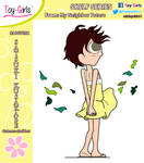 Toy Girls - Shelf Series 98: Satsuki Kusakabe by mickeyelric11