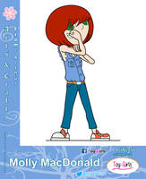 Toy Girls - Arts n Crts Series 56: Molly MacDonald by mickeyelric11