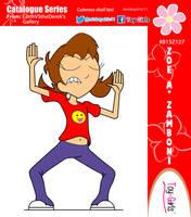 Toy Girls - Catalogue Series 127: Zoe A Zamboni by mickeyelric11