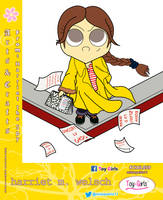 Toy Girls - Arts n Cs Series 59:  Harriet M Welsch by mickeyelric11