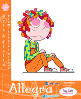 Toy Girls - Arts and Crafts Series 63: Allegra by mickeyelric11