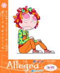 Toy Girls - Arts and Crafts Series 63: Allegra