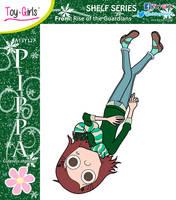 Toy Girls - Shelf Series 127: Pippa by mickeyelric11