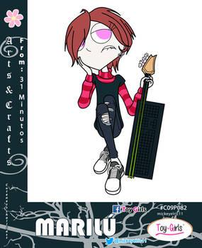 Toy Girls - Arts n Crafts Series 82: Marilu