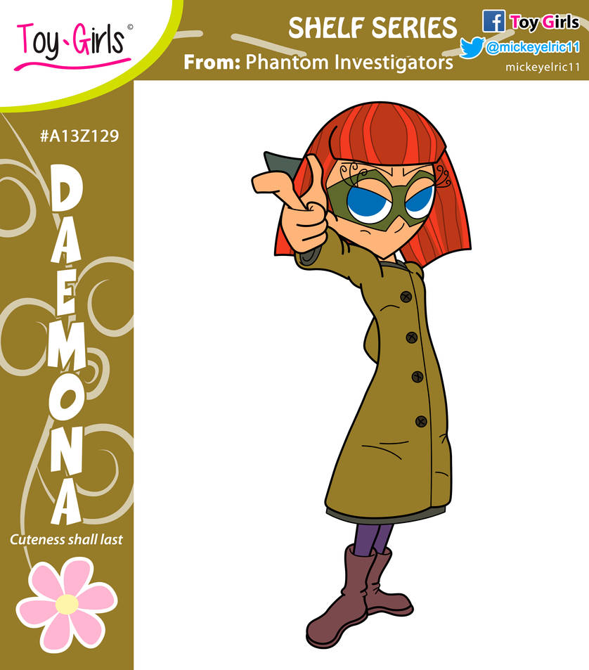 Toy Girls - Shelf Series 139: Daemona by mickeyelric11