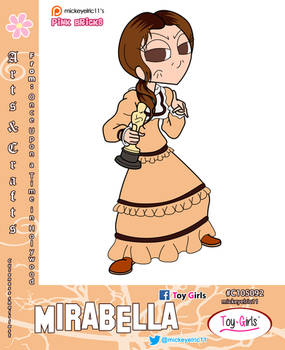 Toy Girls - Arts and Crafts Series 92: Mirabella