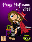 A Witch and a Vampire Went Trick-or-Treating