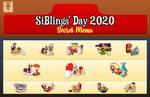 SiBlings' Day 2020 - Secret Menu