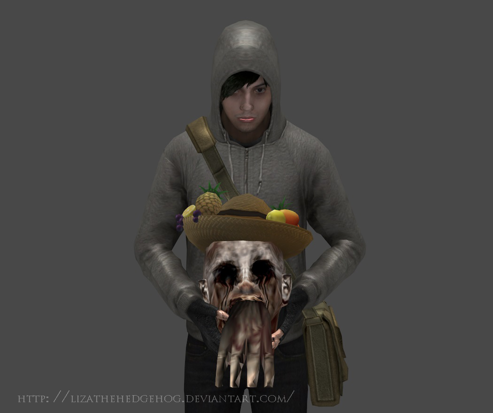 Ruben tries wearing a hat by lizathehedgehog