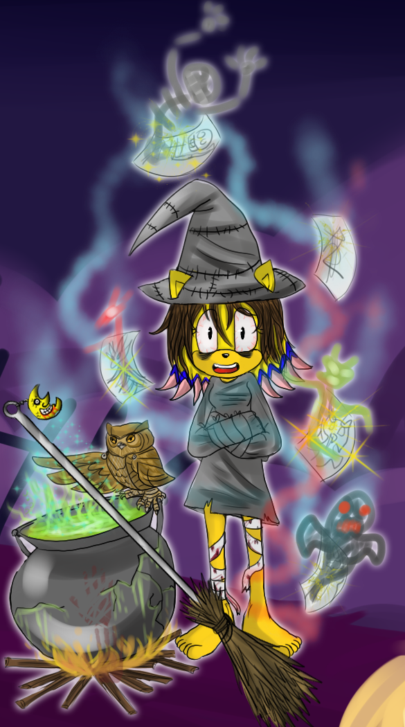 For Halloween 2014 by lizathehedgehog