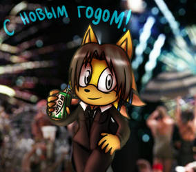 Happy New Year from Liza by lizathehedgehog