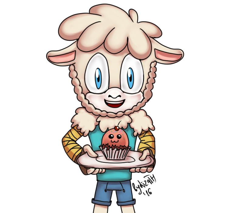 Eat the cupcake by lizathehedgehog