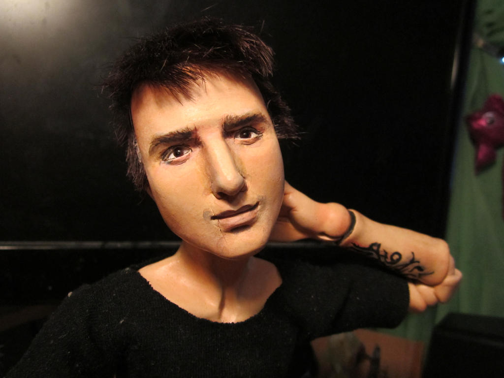 Desmond Miles bjd doll by lizathehedgehog